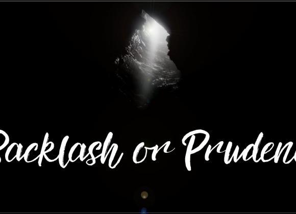 Backlash or Prudence